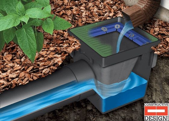 Catch Basins Are The Main Component In A Landscape Drainage System They Are Boxes Available In Vari Stormwater Management Drainage Solutions Catch Basin Drain