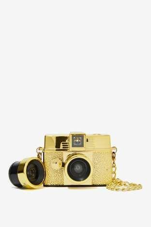 Lomography Diana Baby 110 Gold Camera | Shop Design Lover at Nasty Gal