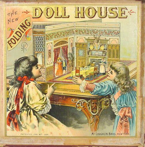 Casa Plegable de Mcloughlin Bros. NY.1894. - maria - Álbumes web de Picasa