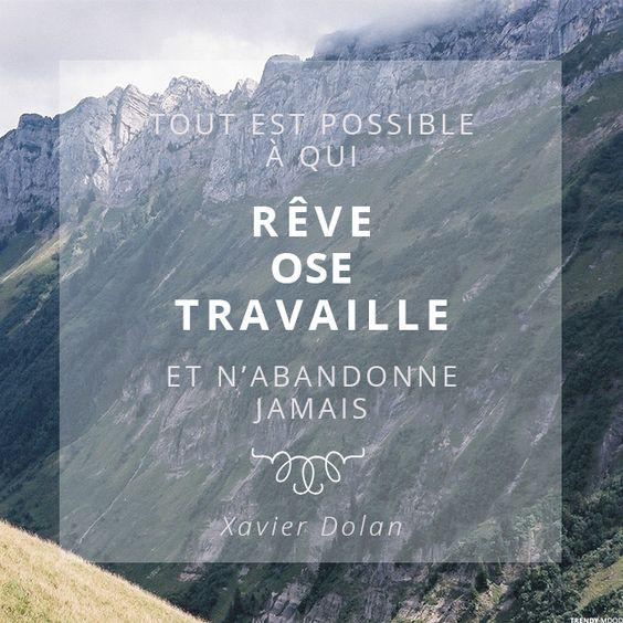 Quote #1 : Tout est possible… | Trendy Mood