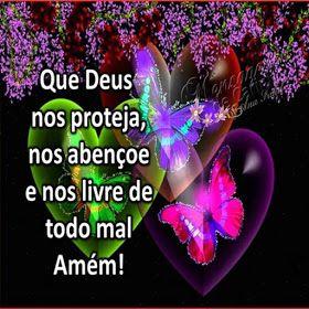 MENSAGENS DE CARINHO: Que Deus nos proteja...