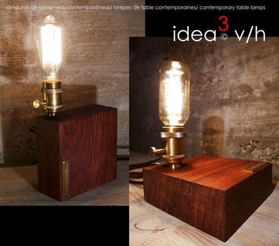 lámparas sobremesa - Página web de factoriab