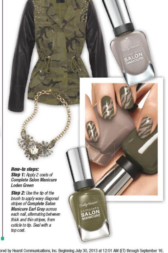 Neat nail idea!   styling   Pinterest   Nails, Ideas and Nail ideas