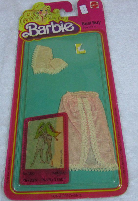 NRFP 1978 1980 Barbie Best Buy Fashions Superstar Era Mattel 1350 | eBay