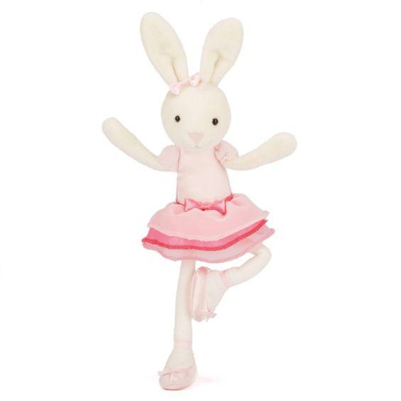 Bitsy Ballerina Hase Kuscheltier von Jellycat - Bonuspunkte sammeln, auf Rechnung bestellen, DHL Blitzlieferung!