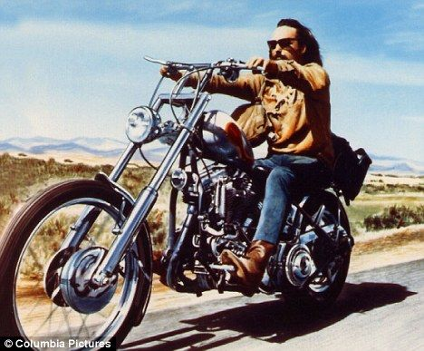 dennis hopper easy rider famous riders pinterest. Black Bedroom Furniture Sets. Home Design Ideas