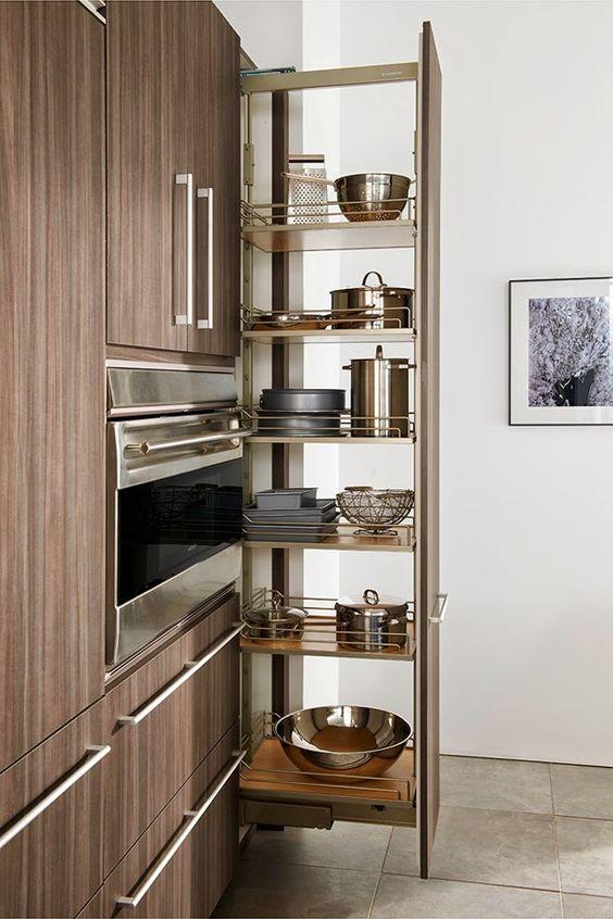 Armarios para ahorrar el espacio en cocinas peque as for Gabinetes para cocina pequena
