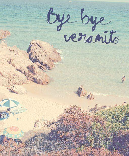 Adiós al verano