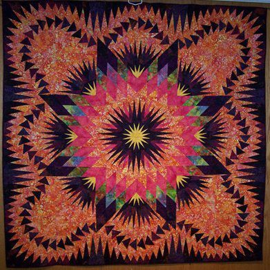 Dragon Star~Quiltworx.com  Made by Tennessee Quilts