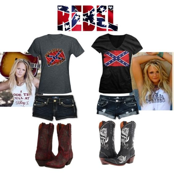 Rebel style Outfit and Rebel flags on Pinterest