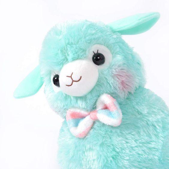 Alpacasso Kids Fuwamoko Ribbon Alpaca Plush Collection (Big) 8