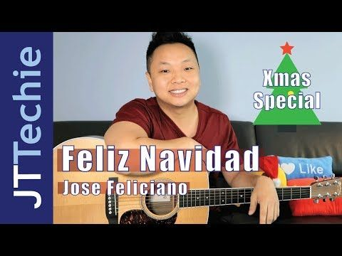 How To Play Feliz Navidad On Acoustic Guitar No Capo Xmas Special Youtube Guitar Acoustic Guitar Lessons Guitar Songs