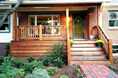 Front Deck Ideas Porch Small