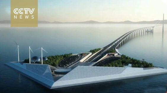 24-kilometer new bridge to be built across South China Sea linking city ...