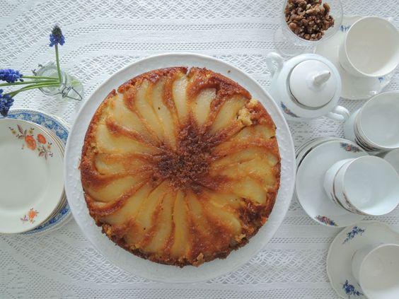 Karamel Perencake ( ook lekker met nectarine of pruim)
