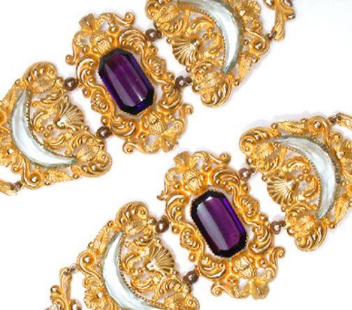 Amethyst bracelets
