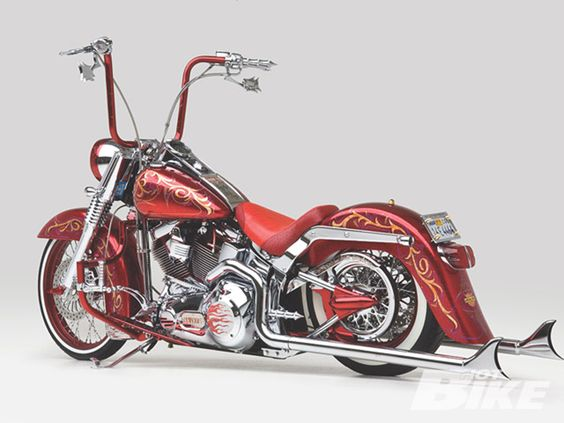 Harley-Davidson Fat Boy Chicano Style... Sooo Cool !!