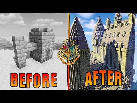 Surprising A Harry Potter Superfan With Her Dream Base Minecraft Nerdy Flippers E2 Youtube Harry Potter Minecraft Minecraft Superfan