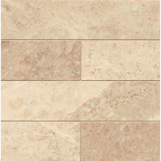 Cappuccino 3 X 12 Floor Wall Tile In 2020 Flooring Porcelain Flooring Beige Marble Tile