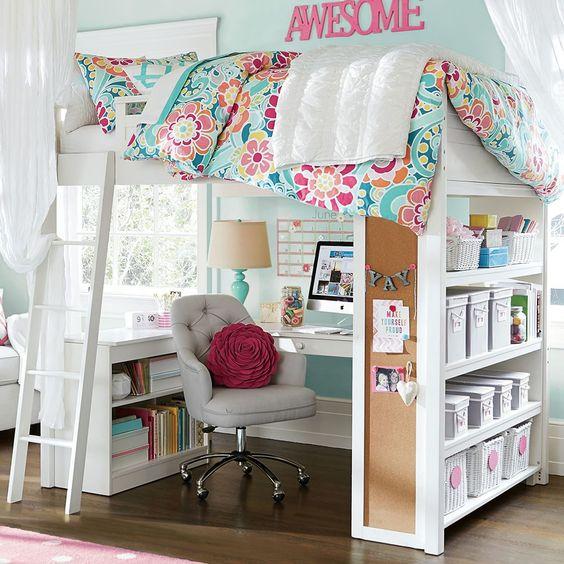 Sleep + Study® Loft   PBteen
