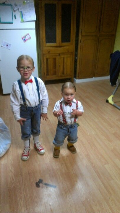 Nerd day at school ideas for boys