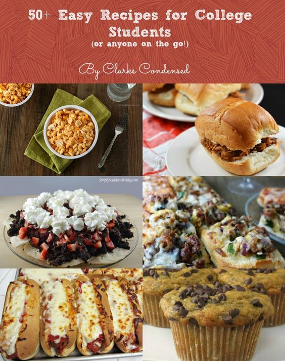 Recipes for college students college students and easy recipes on