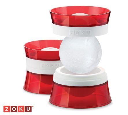 Maak verfijnde, perfect rond ijsballen voor al je drankjes!