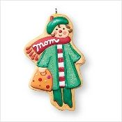 2007 MOM Gingerbread Christmas Hallmark Keepsake Ornament