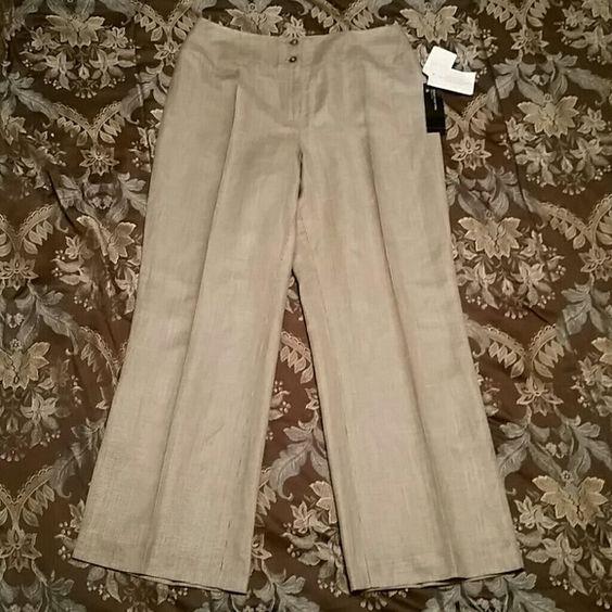 BNWT Jones New York slacks BNWT. Has two layers. Jones New York Pants Trousers