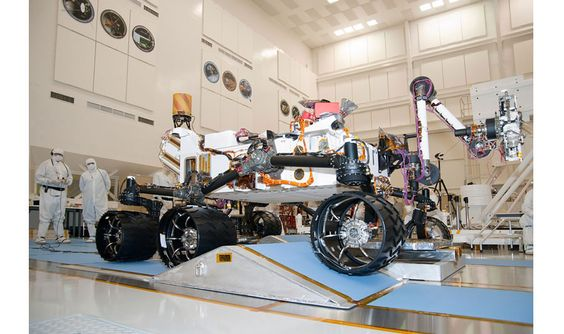 Key moments in the rover's journey from NASA's JPL to the surface of the red planet.