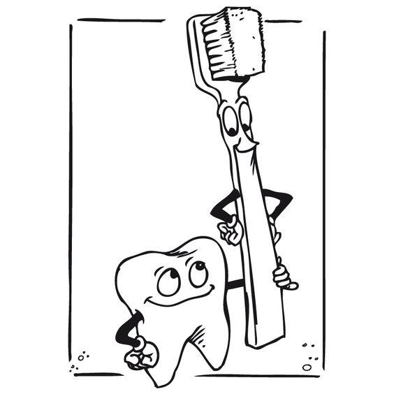 El cepilo y los dientes