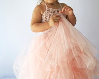 Dreamy ballerina-inspired dress featuring a ruffly by AylinkaShop