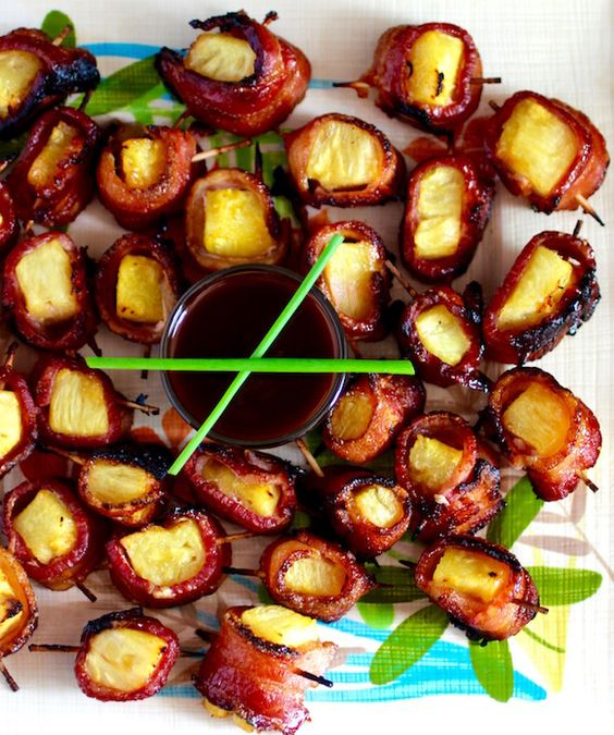 Entertaining this barbecue season? These Pineapple and Bacon appetisers are a great introduction to your guests!