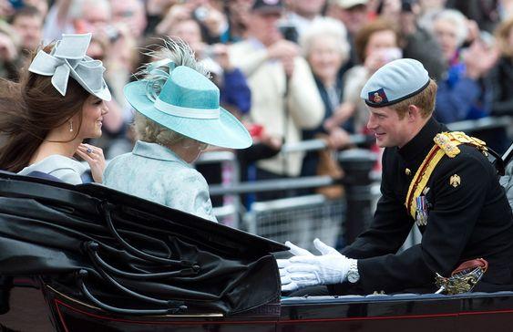 Charming Prince Harry.