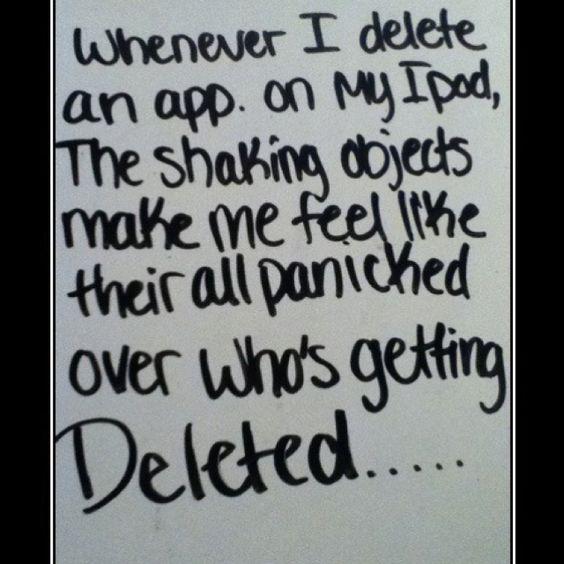 Haha... So true on my iPhone too.  *kls