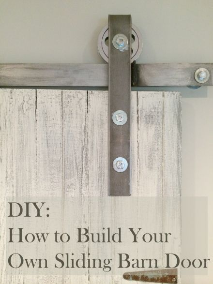 Learn How To Make Your Own Sliding Barn Door All I Did