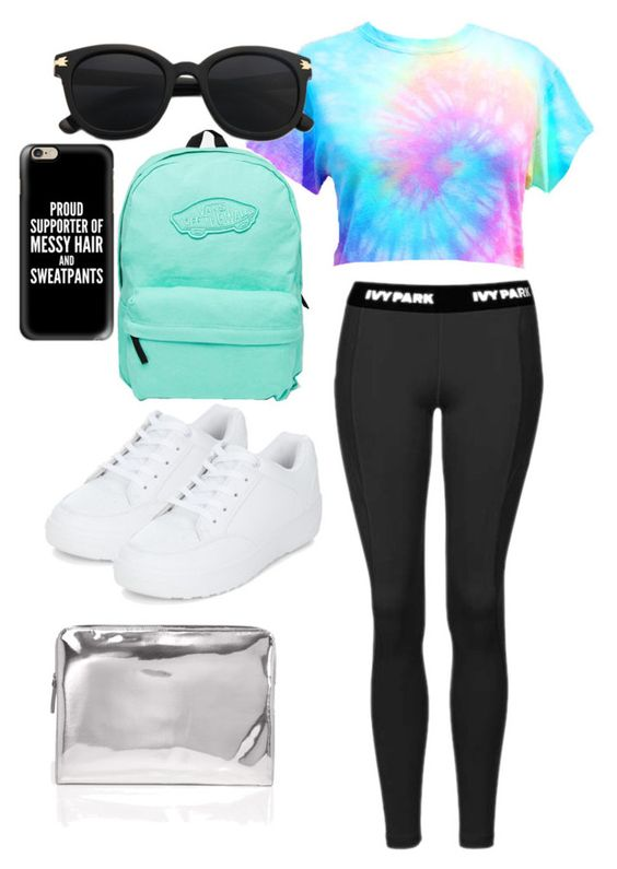 """Lazy day summer outfit."" by ariadae on Polyvore featuring Topshop, Marc by Marc Jacobs, New Look, Vans and Casetify"