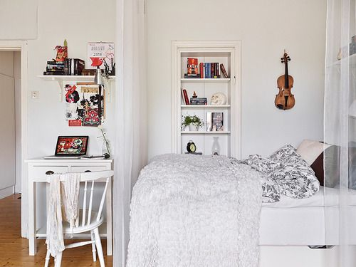 Small apartment space