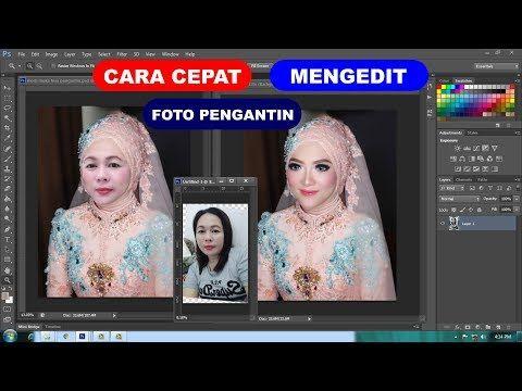 Cara Mengedit Foto Pengantin Youtube Foto Pengantin Pengeditan Foto Pengantin