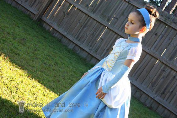 Cinderela Veste Acessórios | Make It e amo-
