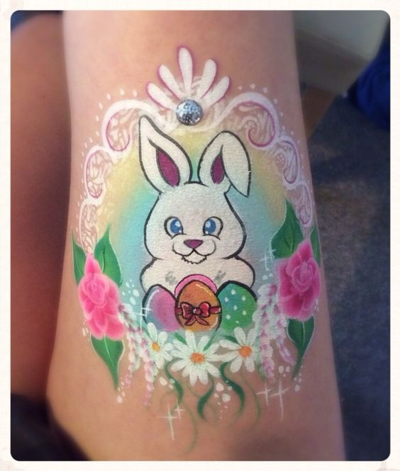 Easter face painting | Face painting | Pinterest | Face paintings ...