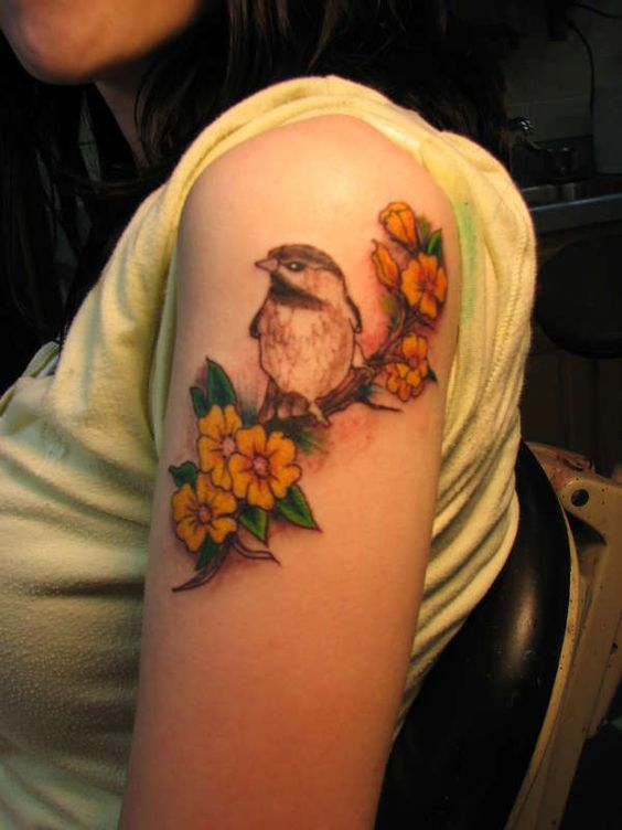 finches finch tattoo and tattoos and body art on pinterest