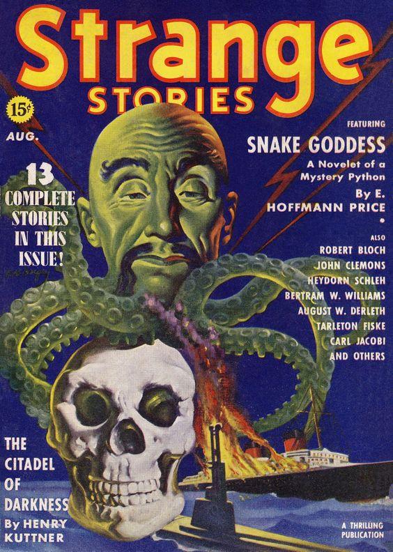 Weird Tales | ACOTACIONES: STRANGE STORIES, WEIRD TALES
