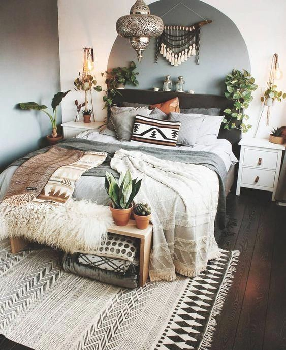 12 Minimalist Bedroom Decorating Ideas In 2020 Bedroom Decor Cozy Bohemian Bedroom Design Bedroom Decor