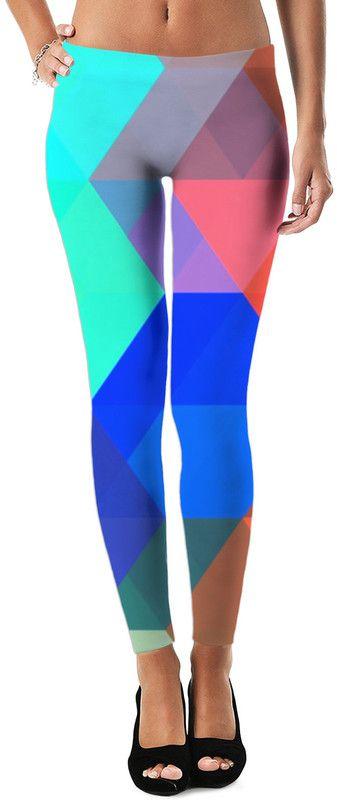 Strong Force Dubstep Custom Rave Revolution Street Style Leggings by Willy Badu.