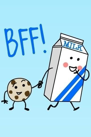 Things That Go Together Like Milk And Cookies