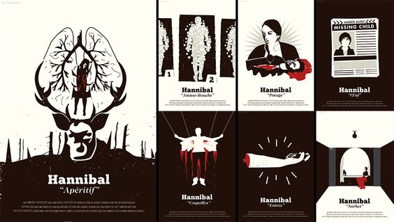 Hannibal Episode Posters (1/2)