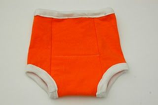 Potty training pants, pattern and instructions