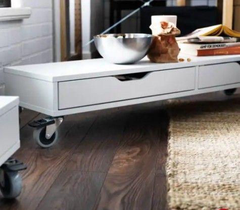 20 Awesome Ikea Alex Hacks You Ll Love Ikea Coffee Table Coffee Table Ikea Hack Ikea Legs