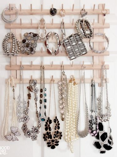 11 Stylish Jewelry Organizers You Can DIY: